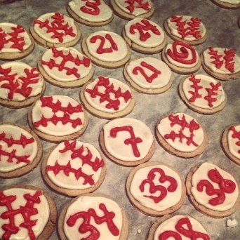 Homemade Sugar Cookies for the Fellas